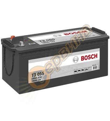 Стартерен акумулатор Bosch T3 055 0092T30550 - 12V/180Ah
