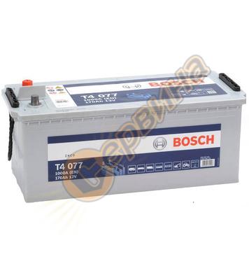 Стартерен акумулатор Bosch T4 077 0092T40770 - 12V/170Ah