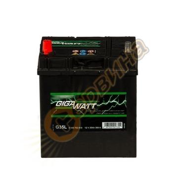Стартерен акумулатор Gigawatt JIS L+ G35L 0185753519 - 12V/3