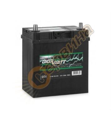 Стартерен акумулатор Gigawatt JIS R+ G35 0185753518 - 12V/35