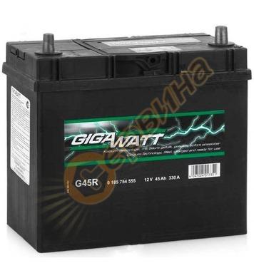 Стартерен акумулатор Gigawatt JIS R+ G45R 0185754555 - 12V/4
