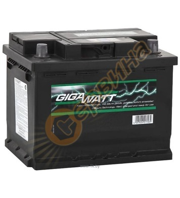 Стартерен акумулатор Gigawatt G53R 0185755300 - 12V/53Ah