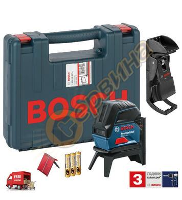 Линеен лазерен нивелир Bosch GCL 2-15 0601066E02 - 15м