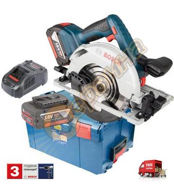 Акумулаторен ръчен циркуляр Bosch GKS 18V-57 G 06016A2100 -