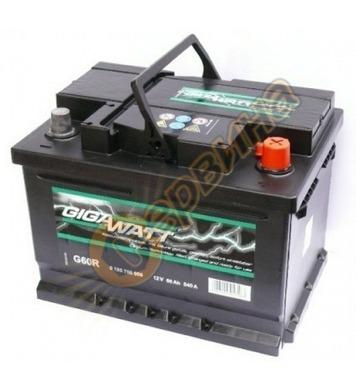 Стартерен акумулатор Gigawatt G60R 0185756008 - 12V/60Ah