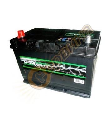 Стартерен акумулатор Gigawatt JIS L+ G60JL 0185756013 - 12V/