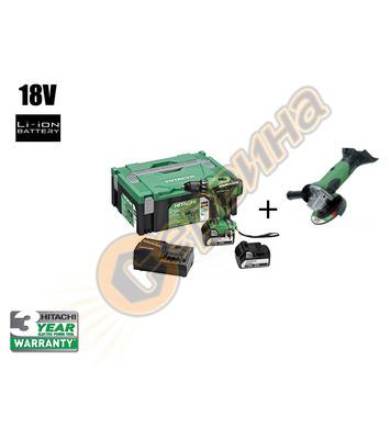 Акумулаторен винтоверт Hitachi DS18DBEL - 18V/5Ah Li-Ion 26-