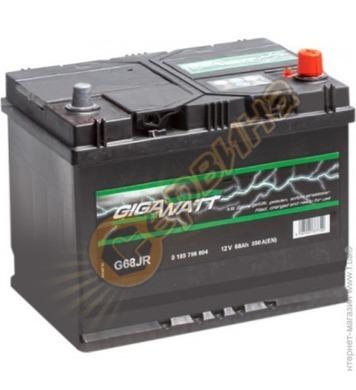 Стартерен акумулатор Gigawatt JIS R+ G68JR 0185756804 - 12V/