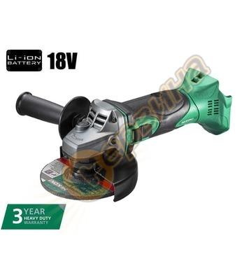 Акумулаторен ъглошлайф Hitachi G18DSL - 18V Li-Ion 115мм