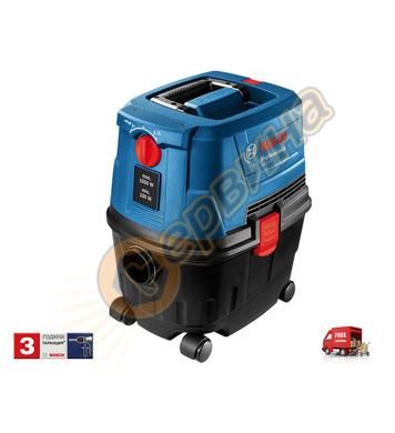 Прахосмукачка за сух и мокър режим Bosch GAS 15 PS 06019E510