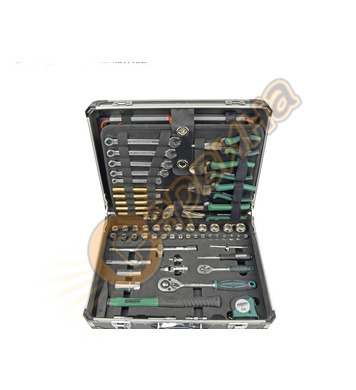 Комплект инструменти в куфарче Mannesmann M29078 - 160 части
