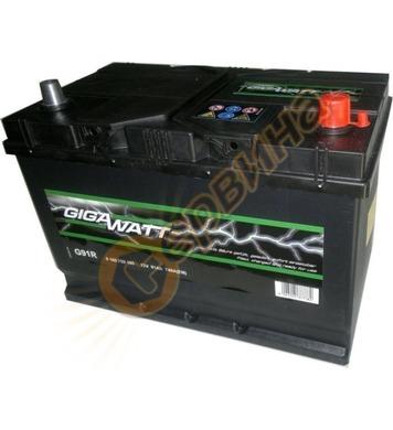 Стартерен акумулатор Gigawatt JIS R+ G91R 0185759100 - 12V/9