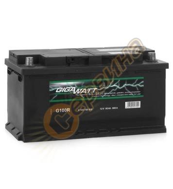 Стартерен акумулатор Gigawatt G100R 0185759502 - 12V/95Ah