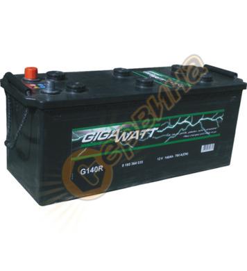 Стартерен акумулатор Gigawatt G140R 0185364035 - 12V/140Ah