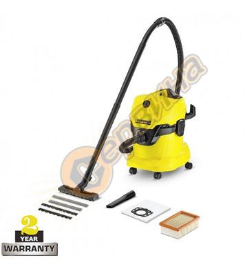 Прахосмукачка за сухо и мокро почистване Karcher WD 4 1.348-