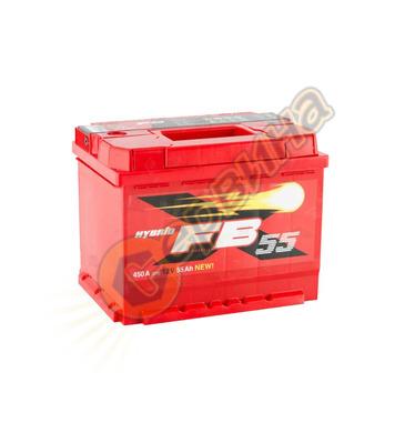 Стартерен акумулатор Westa FB 55 6СТ-55АЗ(0) - 12V/55Ah