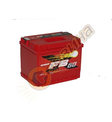 Стартерен акумулатор Westa FB 60 6СТ-60АЗ(0) - 12V/60Ah