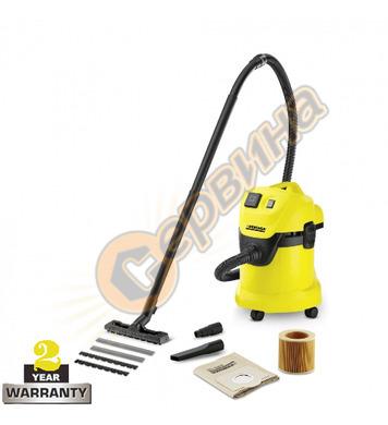 Прахосмукачка за сухо и мокро почистване Karcher WD 3 P 1.62