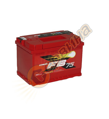 Стартерен акумулатор Westa FB 75 6СТ-75АЗ(0) - 12V/75Ah