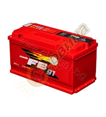 Стартерен акумулатор Westa FB 91 6СТ-91АЗ(0) - 12V/91Ah