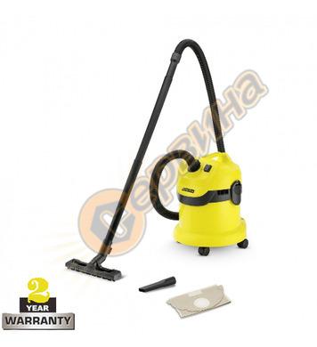 Прахосмукачка за сухо и мокро почистване Karcher WD 2 1.629-