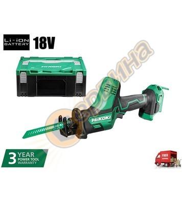 Акумулаторна ножовка - саблен трион Hitachi CR18DSL 18V Li-I