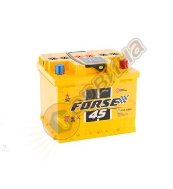 Стартерен акумулатор Westa Forsе 45 F 6СТ-45АЗ(0) - 12V/45Ah