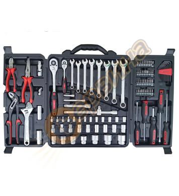 Професионален комплект ръчни инструменти в куфар Troy T21910