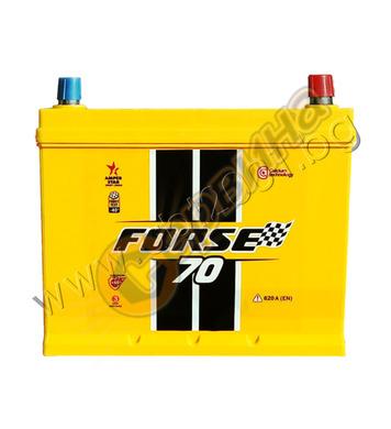 Стартерен акумулатор Westa Forsе JIS R+ 70 F 6СТ-70АЗ(0) - 1