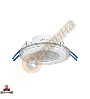 Луна за вграждане Vivalux Vetri - LED 003518 - 6W WW