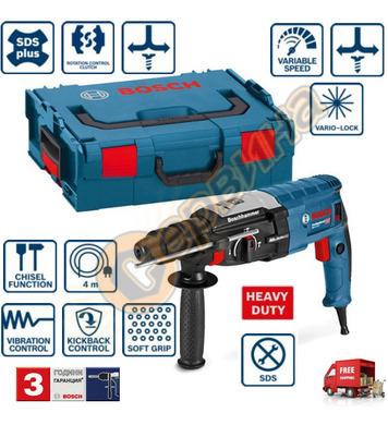 Комбиниран перфоратор Bosch GBH 2-28 0611267501 - 880W