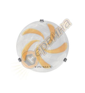 Плафониера Vivalux Vortice 5114 000434 - 2X60W