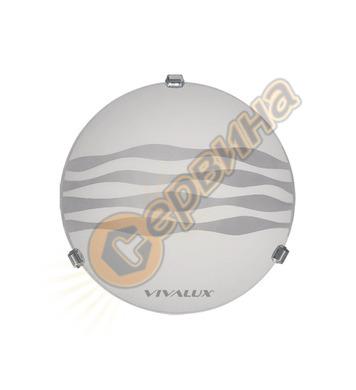 Плафониера Vivalux Onda 5014 000387 - 2X60W