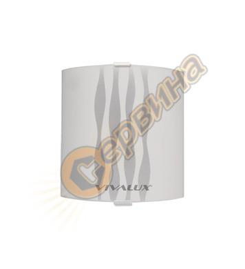 Аплик Vivalux Onda 5012 квадрат 000385 - 75W