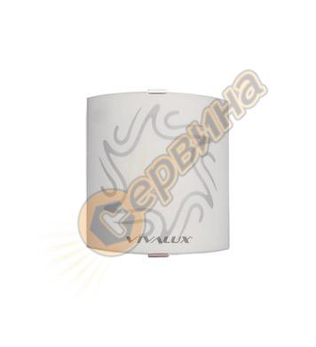 Аплик Vivalux Olbia White 5022 квадрат 000389 - 75W
