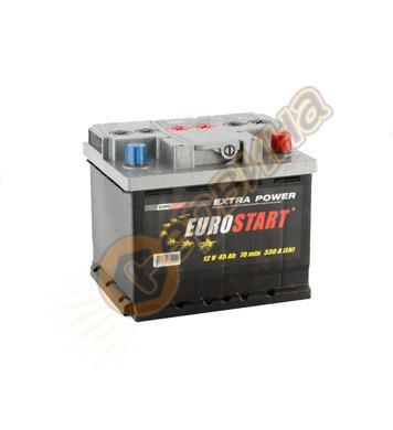 Стартерен акумулатор Westa Eurostart 45 ES 6СТ-45АЗ(0) - 12V