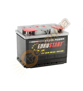 Стартерен акумулатор Westa Eurostart 60 ES 6СТ-60АЗ(0) - 12V