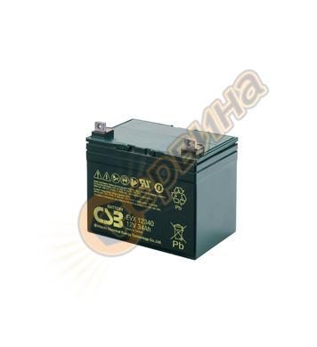 Акумулатор UPS Vrla Csb EVX12340 - 12V/34Ah