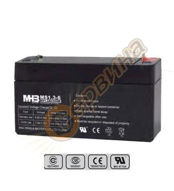 Акумулатор UPS Vrla Mhb MS1.3-6 - 6V/1.3Ah