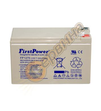 Акумулатор UPS Vrla FirstPower FP1270 - 12V/7Ah