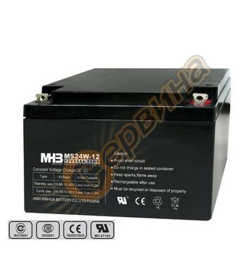 Акумулатор UPS Vrla Mhb MS24-12 - 12V/24Ah
