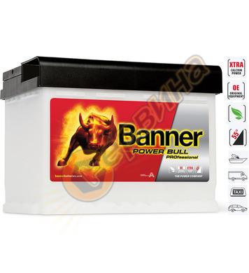 Стартерен акумулатор Banner Power Bull Pro P63 40 - 12V/63Ah