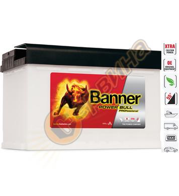 Стартерен акумулатор Banner Power Bull Pro P77 40 - 12V/77Ah