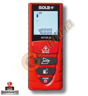 Противоударна лазерна ролетка Sola Vector 40 71020101 - 40м