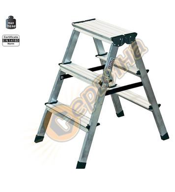 Двустранна алуминиева стълба Krause Dopplo 120328 - 2X3бр