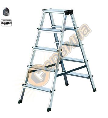 Двустранна алуминиева стълба Krause Dopplo 120342 - 2X5бр