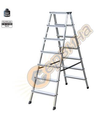 Двустранна алуминиева стълба Krause Dopplo 120366 - 2X7бр