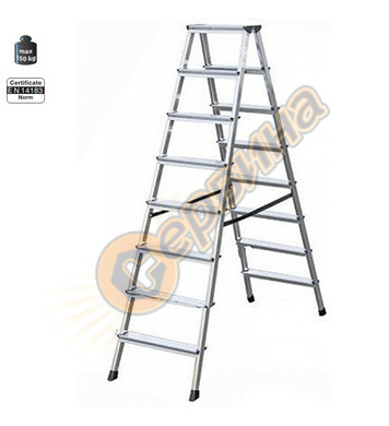 Двустранна алуминиева стълба Krause Dopplo 120373 - 2X8бр