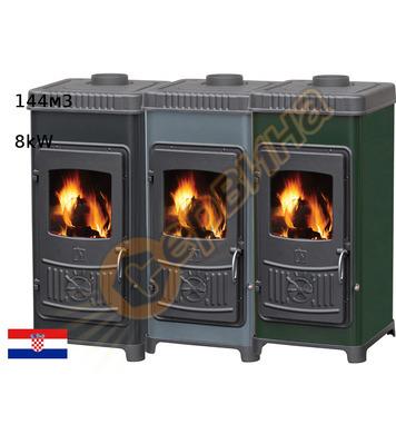 Камина-печка-пещ на твърдо гориво без водна риза Plamen DORA