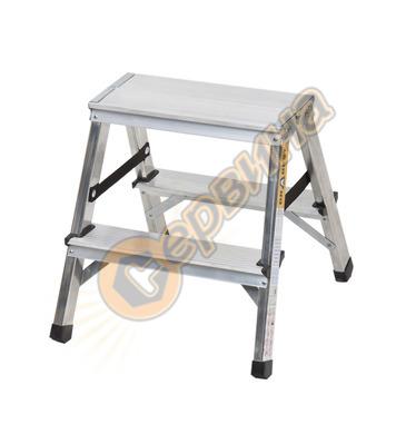 Двустранна алуминиева стълба Drabest 03082200 - 2Х2бр